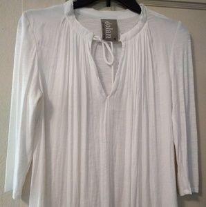 New XS Anthropologie Dolan Left Coast white tunic